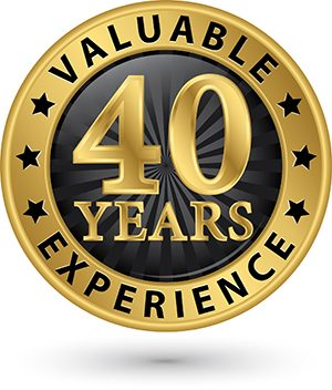 Over 40 years experience in Home Remodeling, Landscaping, and Roofing