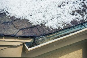 Roof Hail Damage in Woodland Park